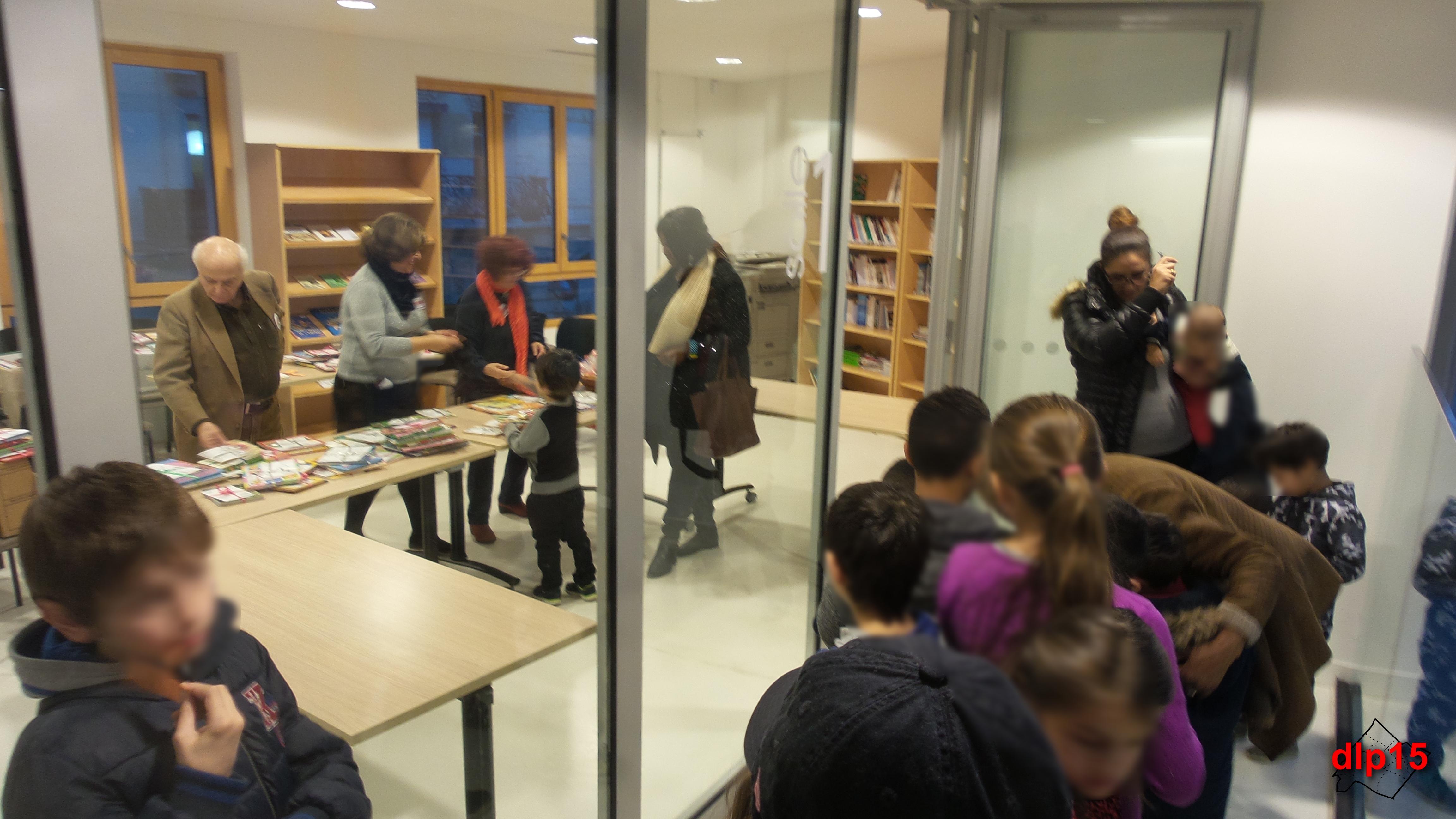 La Grande Journée des Enfants s'est clôturée par une distribution de livres