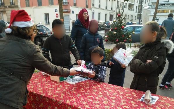 DLP15 a distribué de nombreux jouets aux enfants