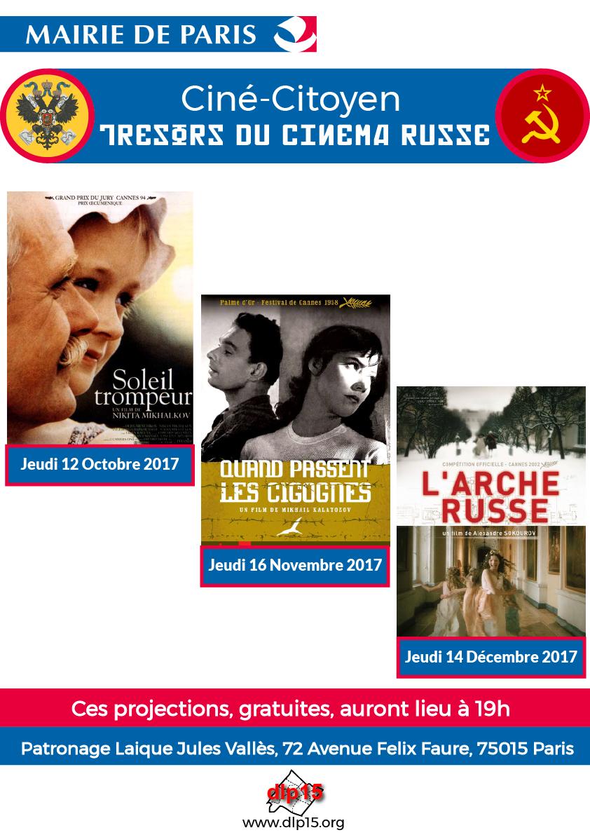 Cycle Cine Citoyen films russes DLP15